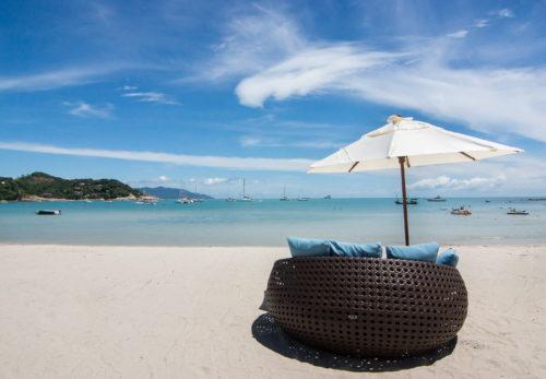 タイ・サムイ島のホテルと日本地区営業代理店契約を締結いたしました。